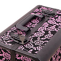 Чемодан металлический для мастеров, розовый