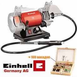 Мини-точило с гибким валом Einhell  TH-XG  75 Kit