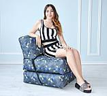 Бескаркасное кресло раскладушка, фото 4