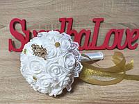 Свадебный букет-дублер для невесты Stile Цвет золотой.