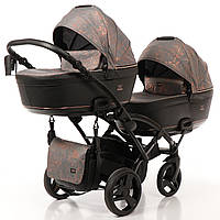 Дитяча коляска для двійні Tako Corona Duo Slim 01, фото 1