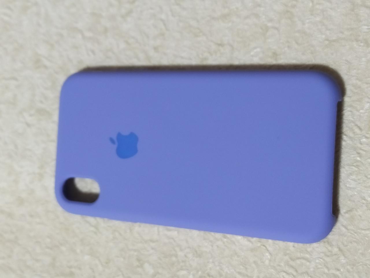 Накладка   Silicon Case Original  для  iPhone XR  6.1  (сиреневый)