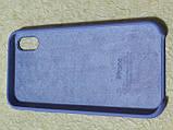 Накладка   Silicon Case Original  для  iPhone XR  6.1  (сиреневый), фото 2