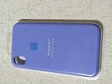 Накладка   Silicon Case Original  для  iPhone XR  6.1  (сиреневый), фото 3