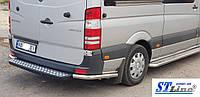 Mercedes Sprinter (07-14) защитная дуга защита заднего бампера на для Мерседес Спринтер Mercedes Sprinter (07-14) углы d60х1,6мм