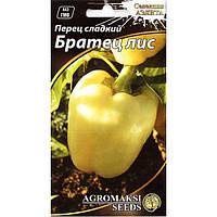 """Семена перца раннего, желтого, сладкого """"Братец лис"""" (0,2 г) от Agromaksi seeds"""