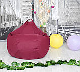 Кресло груша Оксфорд Бордо, фото 9