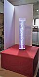 Пузырьковая колонна для сенсорной комнаты с пуфом, фото 2