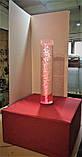 Пузырьковая колонна для сенсорной комнаты с пуфом, фото 3