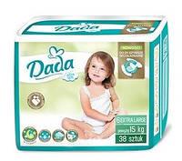 Dada Extra Soft подгузники детские 6 Extra Large (15кг+) 38шт