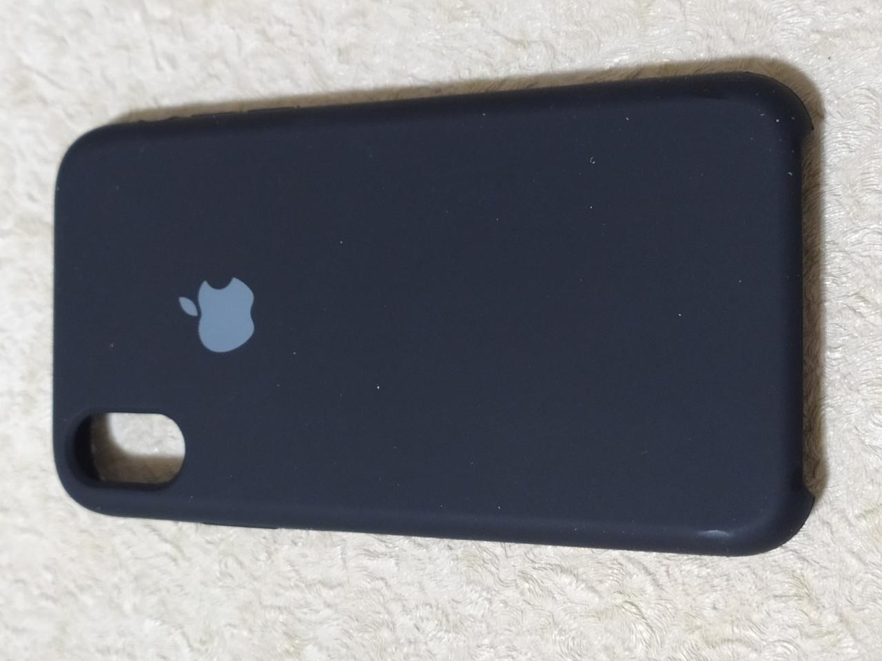 Накладка   Silicon Case Original  для  iPhone XR  6.1  (черный)