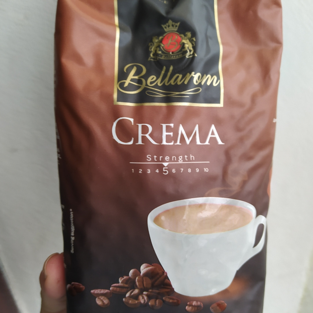Кофе з зернах 100% арабика крема Bellarom Crema 500g
