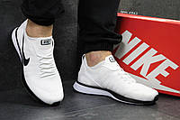 Мужские кроссовки Nike,летние,сетка,белые 44,45р
