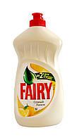 Средство для мытья посуды Fairy Сочный лимон - 500 мл.