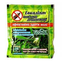 Таблетки от моли «Глобал» аромат эвкалипта (10 шт), оригинал