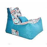 Бескаркасное кресло Барселона велюр, фото 3