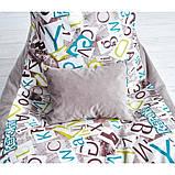 Бескаркасное кресло Барселона велюр, фото 5