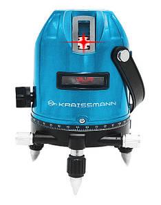 Лазерный уровень Kraissmann 5 LL 30R  (Германия) Гарантия 60 месяцев!