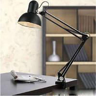 Настольная лампа для мастера маникюра на стубцине