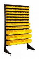Торговый стеллаж с ящиками для крепежа 1500 мм