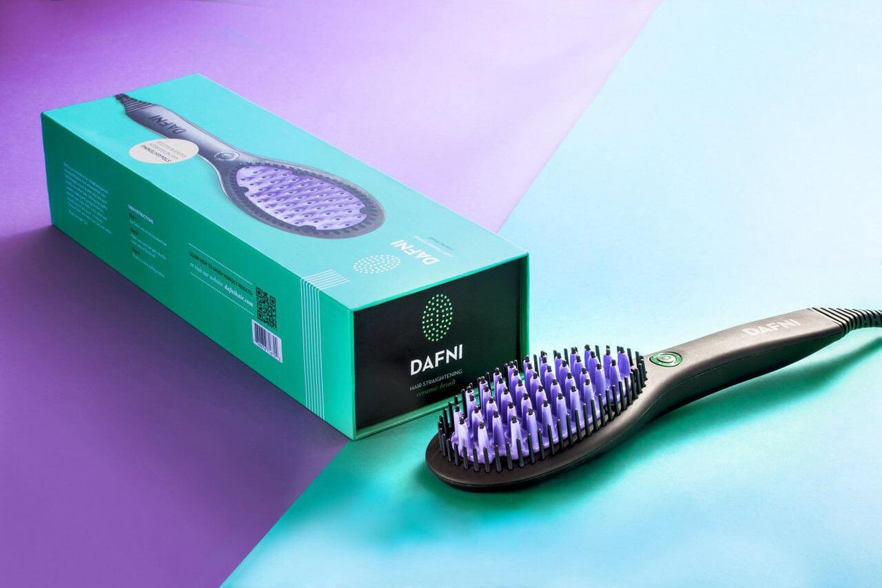 """Расческа для выпрямления волос """"DAFNI Hair"""". ОРИГИНАЛ! Лучший подарок для девочек и их мам"""