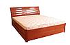 Кровать Мария Люкс 180 х 200 см + 4 ящика (орех светлый), фото 2
