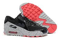 Женские кроссовки Nike Air Max 90 WMNS в черном цвете, фото 1