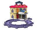 Железная дорога Чаггингтон Депо с подъемным механизмом Chuggington LC54217, фото 4