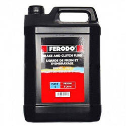 Тормозная жидкость Ferodo DOT 4 5л FE FBX500