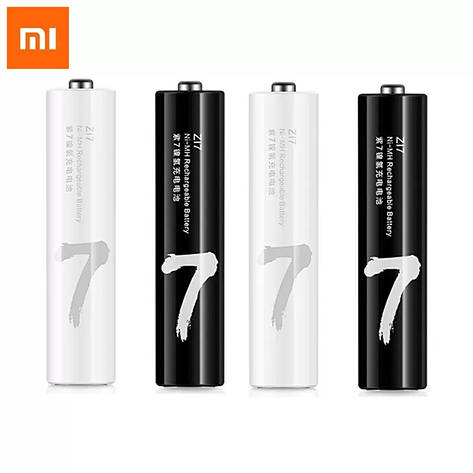 Аккумуляторная батарея Xiaomi ZMI ZI7 AAA HR03 1.2V Ni-MH 750 мАч (NQD4003RT) 4 шт., фото 2