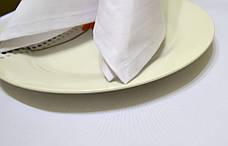Салфетка 45х45 Белая Р-195 для Сервировки Хлопок+ПЭ Евроуголок, фото 3