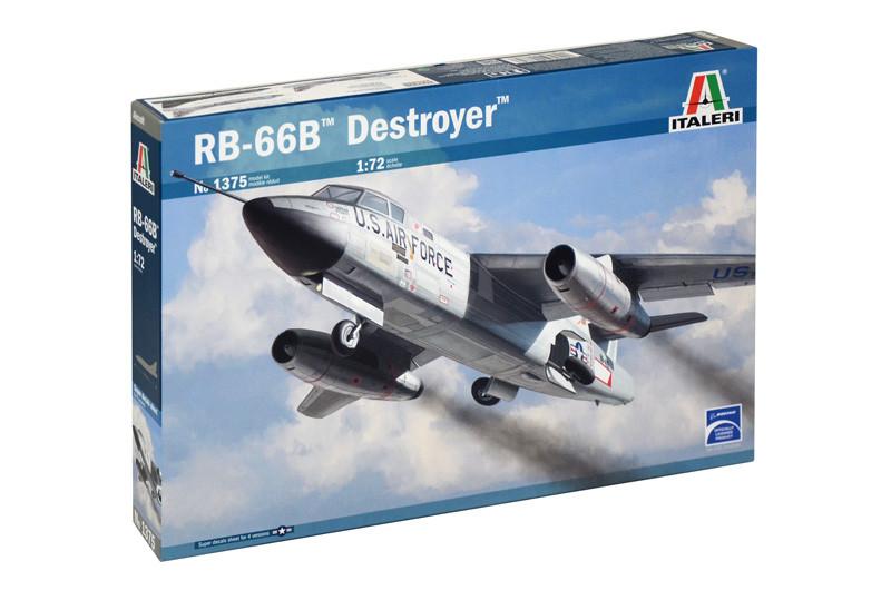 RB 66 - B DESTROYER. Сборная модель самолета в масштабе 1/72. ITALERI 1375
