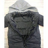 Пальто еврозима черное Рост: 90 см, фото 4