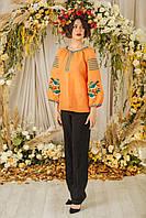 Женская блузка вышиванка Колорит разных размеров, купить