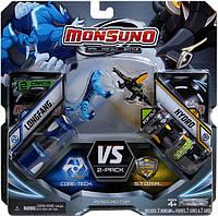 Игровой набор Monsuno Core-Tech S.T.O.R.M LONGFANG и HYDRO (Сombat 2-Packs) W2 24972-14562-MO