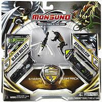 Игровой набор Monsuno S.T.O.R.M. BLACK BULLET и VENOMELEON (Сombat 2-Packs) W4 34439-42935-MO