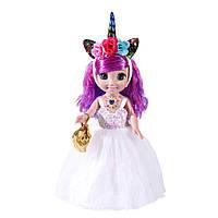 Кукла, поет песню, светится обруч, музыкальная кукла, музыкальная игрушка, 45см, Кукла Moly Princess, принцеса