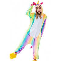 Пижама кигуруми Радужный Единорог