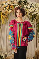 Женская блузка вышиванка Панна разных размеров, купить