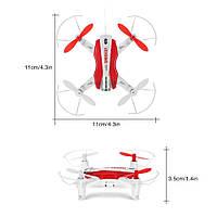 Квадрокоптер WiFi FPV 11.6 см, фото 1