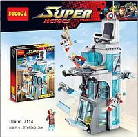 """Конструктор Decool """"Нападение на башню Мстителей"""" (Lego Super Heroes 76038), 511 дет, фото 1"""