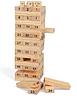Деревянная башня лиственных пород строительные блоки игрушка Domino