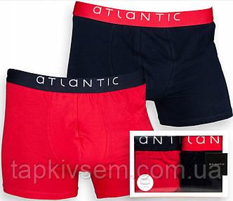 Трусы мужские шорты ATLANTIC 2MH-051 (2ед.) размер XL. цена за 2 шт.