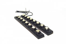 Ходовые огни ДХО DRL 8 LED дневные ABX Day Light 1202-8 4942