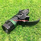 Велосипедний ліхтар передній з фокусуванням і зарядкою, фото 3