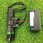 Велосипедний ліхтар передній з фокусуванням і зарядкою, фото 5