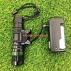 Велосипедний ліхтар передній з фокусуванням і зарядкою, фото 7