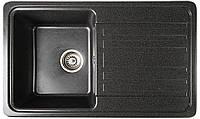 Гранитная мойка Valetti Europe модель №17 черная 76*46