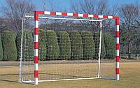 Профессиональная сетка на ворота 3х2 - мини-футбол, гандбол: глубина 0,8 і 1 м.; шнур 5,5 мм. (Польша) #F/B