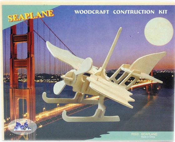 Самолет-Анфибия ― сборная 3д модель